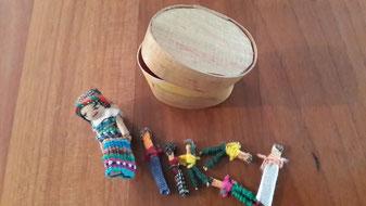 Muñecos Quitapenas, de Guatemala.