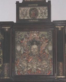 Parte del Altar de las Reliquias