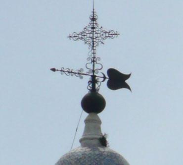Veleta y Cruz de la Iglesia Nuestra Señora del Pilar