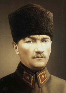 El Mausoleo de Atatürk, en Ankara -Turquía-