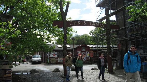 "Entrada a ""Christiania"""