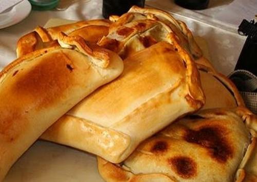 Las comidas chilenas: empanada