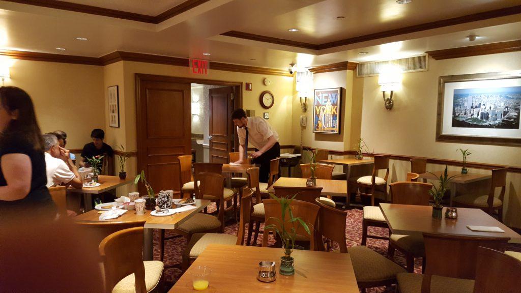 Desayunador del Hotel San Carlos, Nueva York