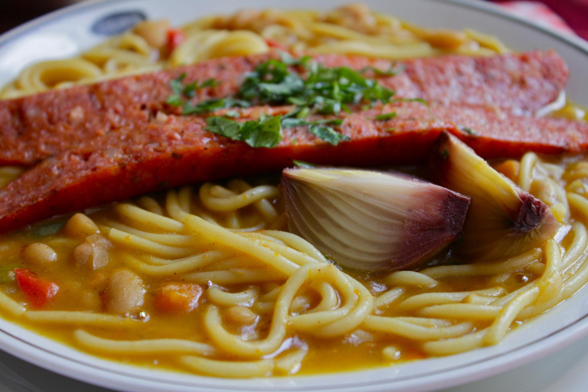 Comidas chilenas, su gran gastronomía Porotos