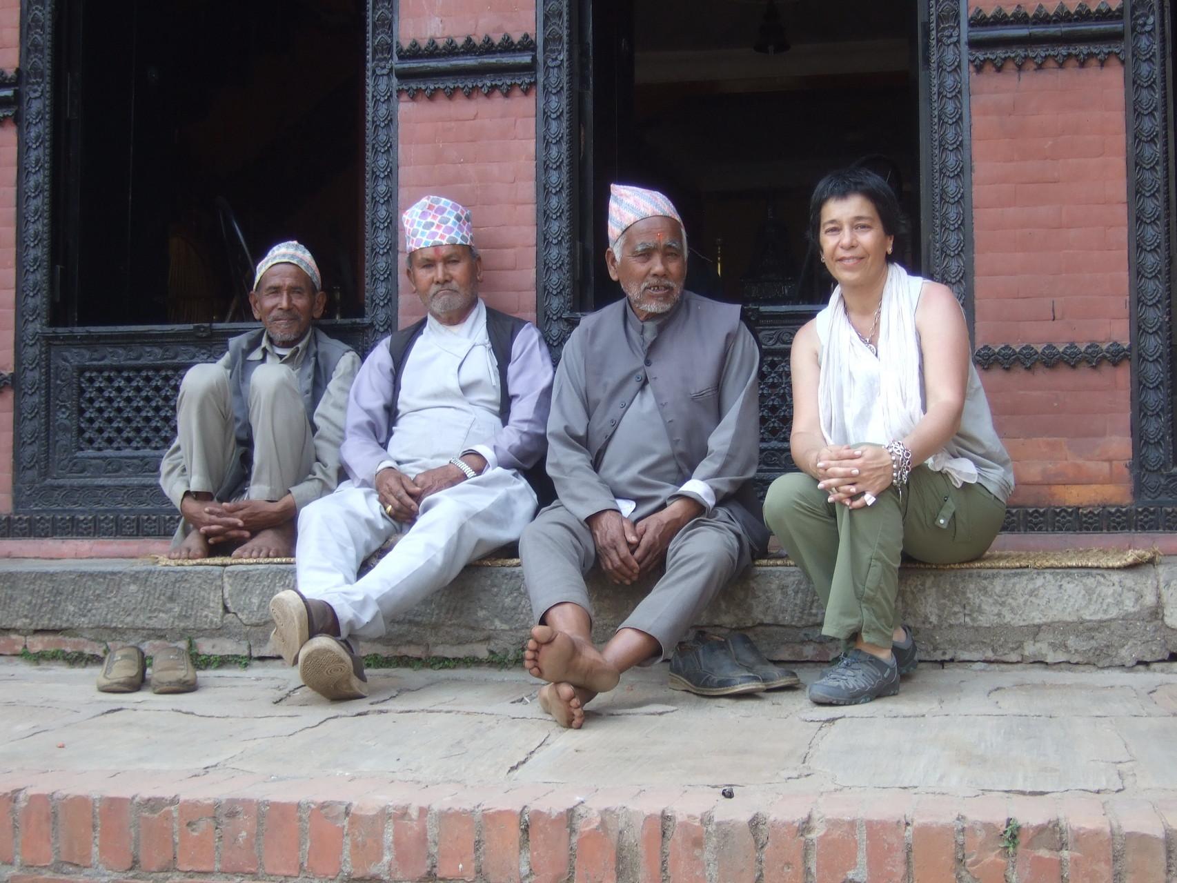 Lilián Viajera en Kathmandu