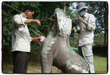 ©UNESCO Restoration work at Angkor