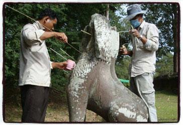 ©UNESCO Restoration work at Angkor