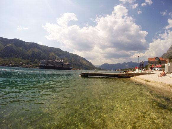 Bahía de Kotor, Montenegro.
