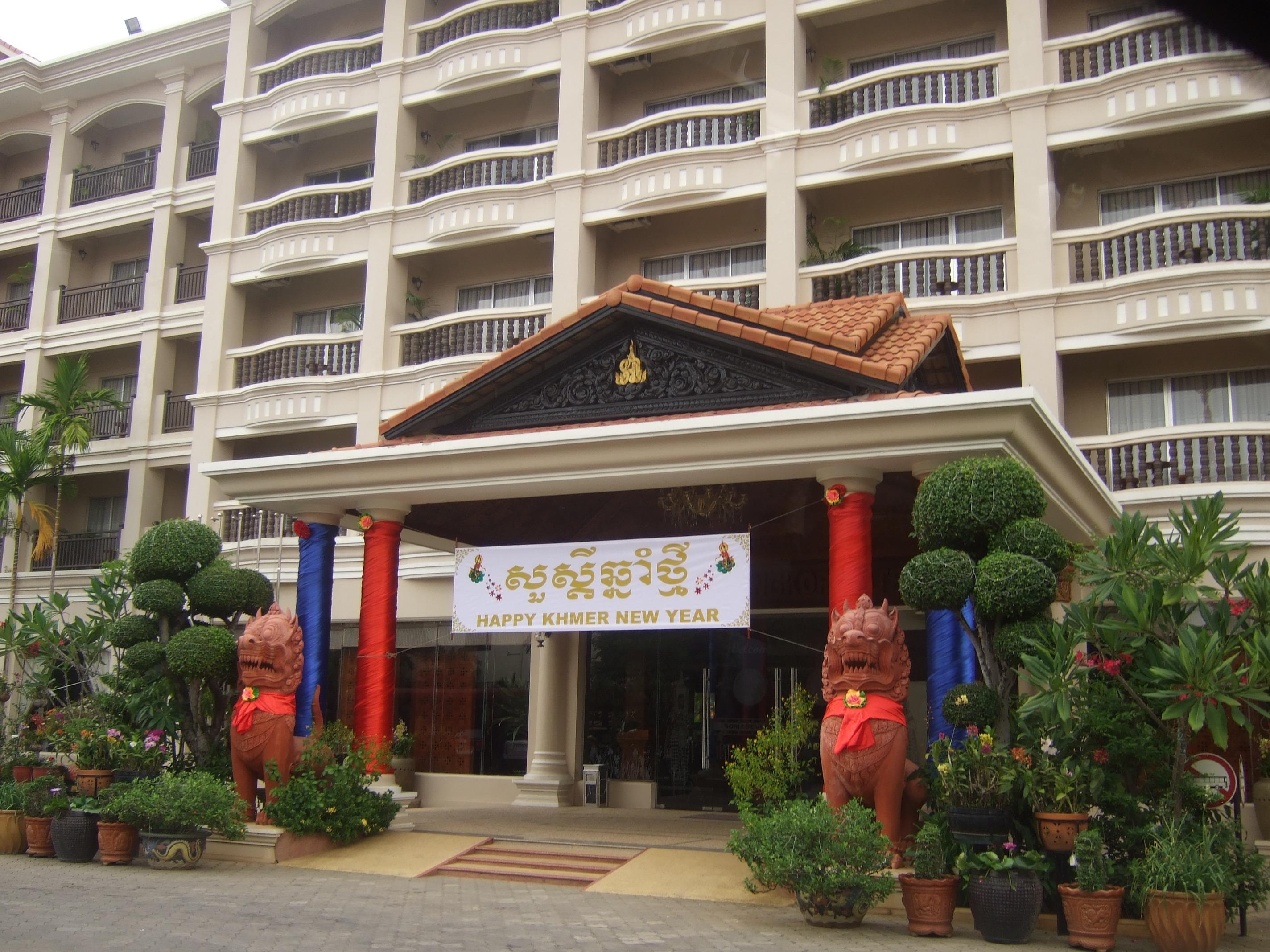 Hotel en Siem Reap Cambodia