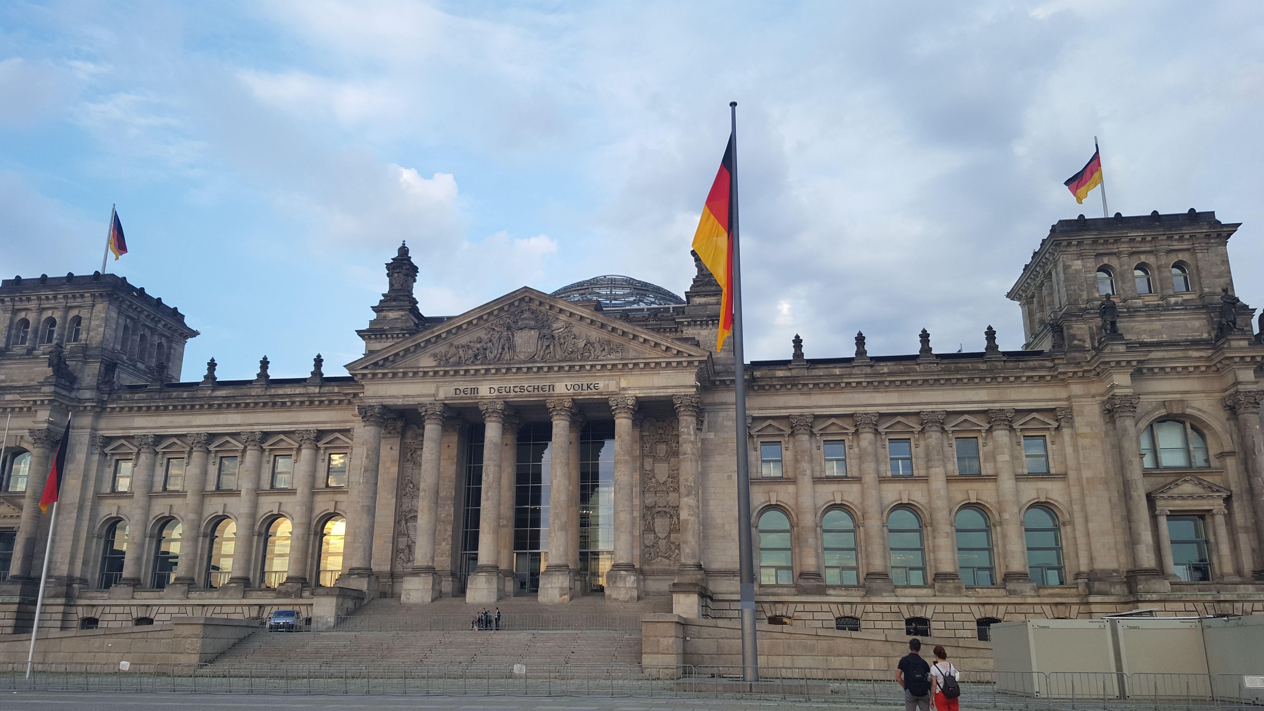 Cúpula del Parlamento Alemán. Bundstag