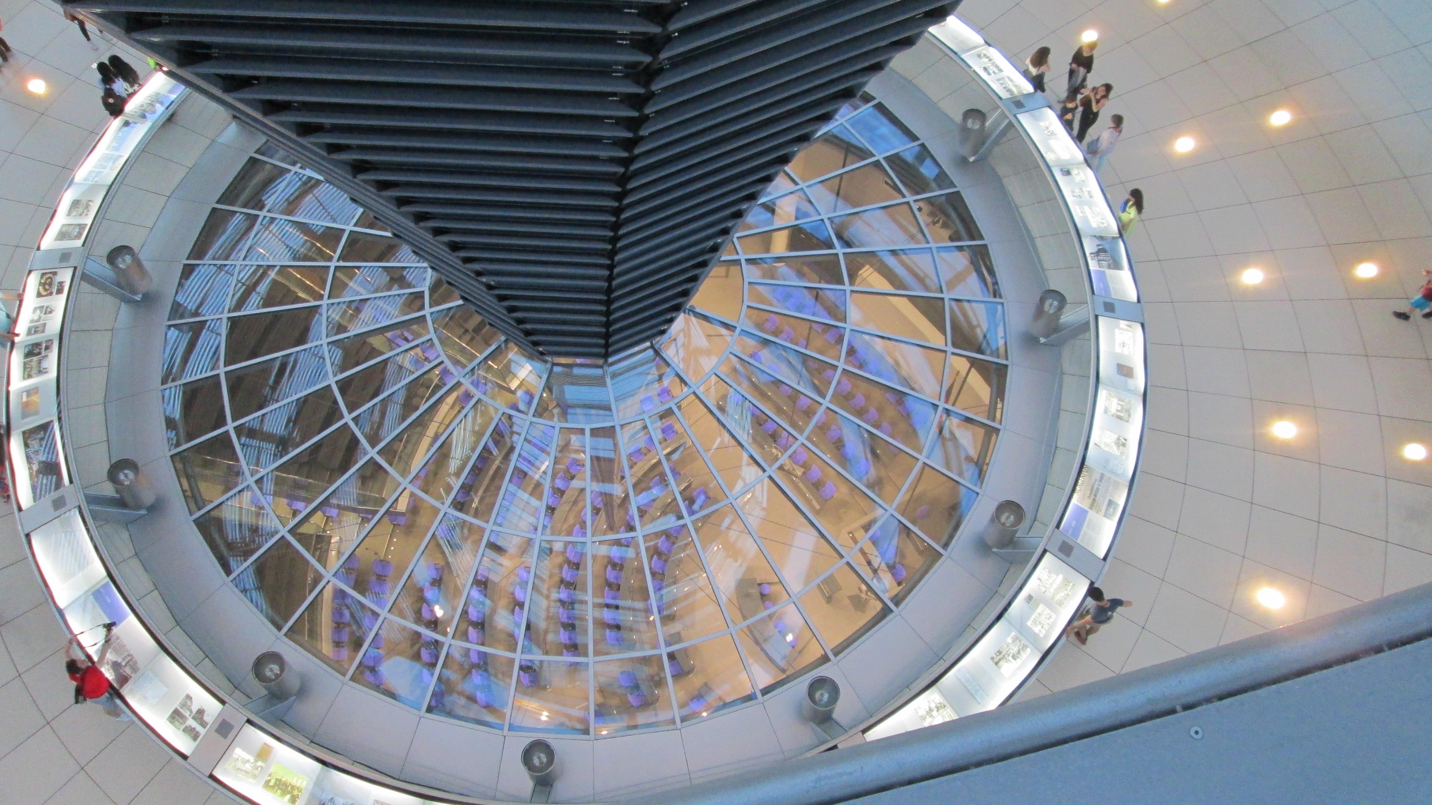 Cúpula del Parlamento Alemán Bundestag