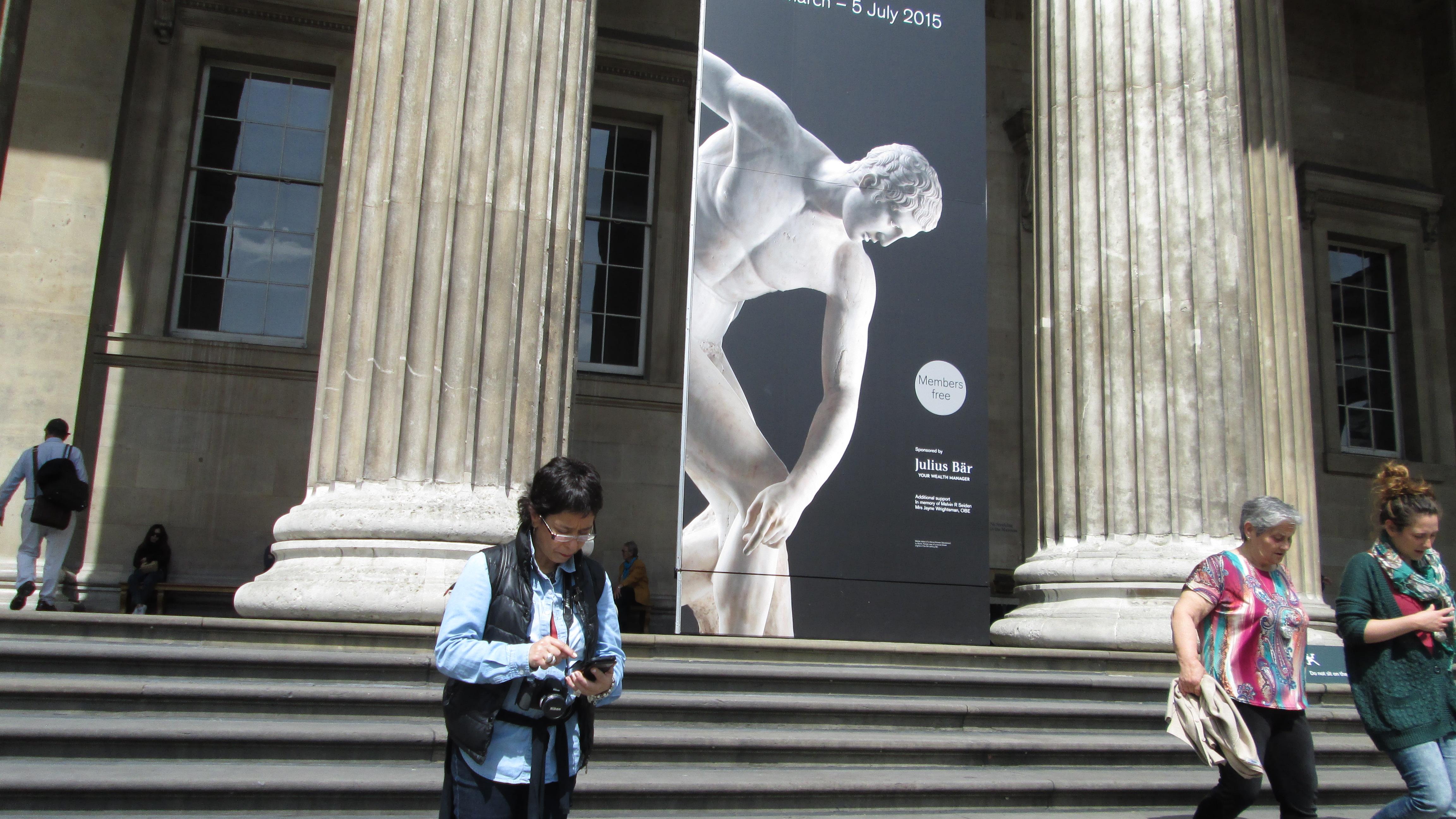 Plano y Recorrido Museo Británico (British Museum) de Londres