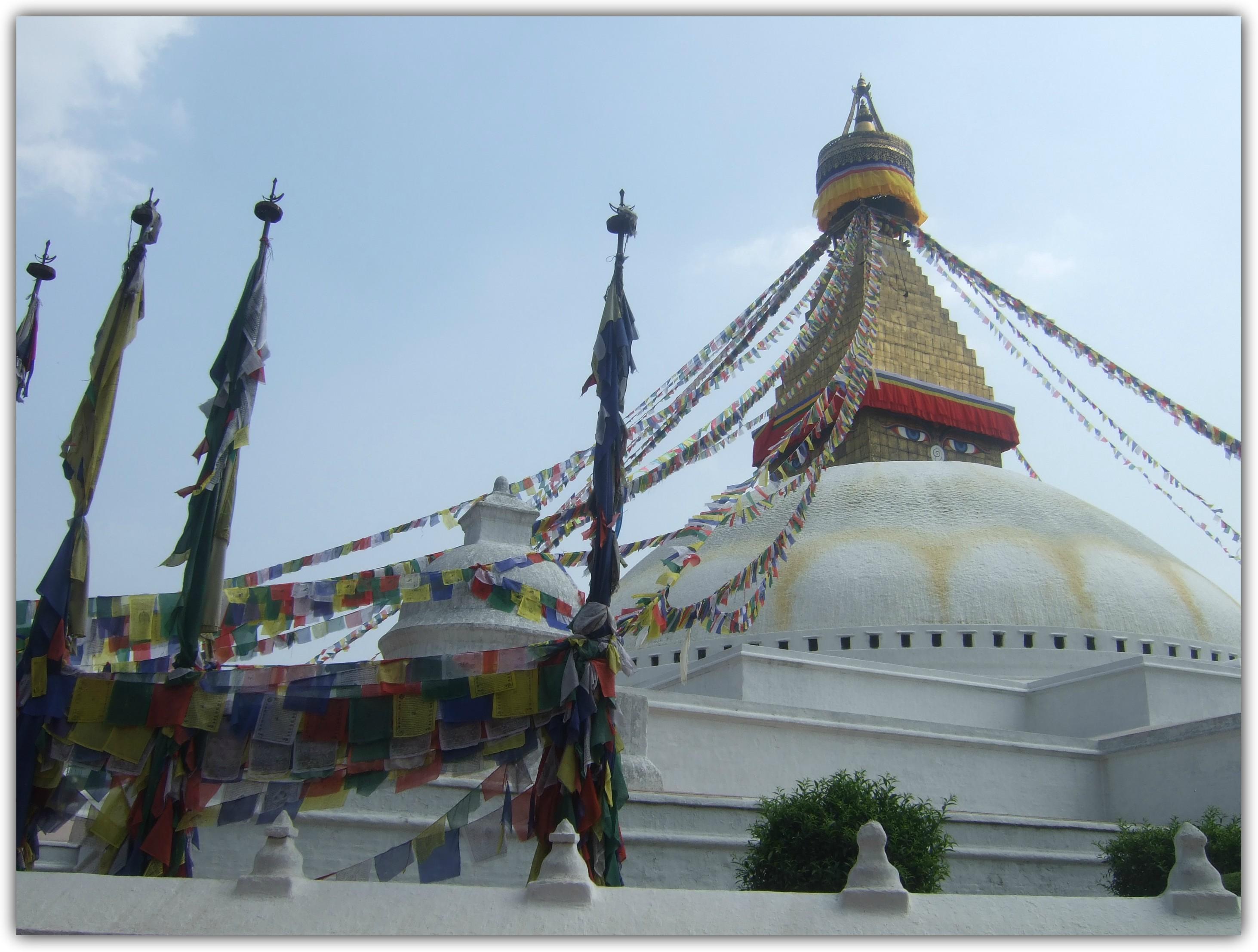 La Estupa de Boudhanath, un lugar sagrado de Nepal
