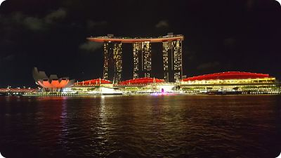 Vistas de la Marina Bay Sands